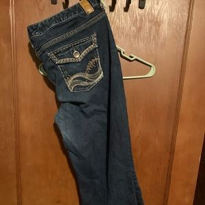 Maurice's crop jeans